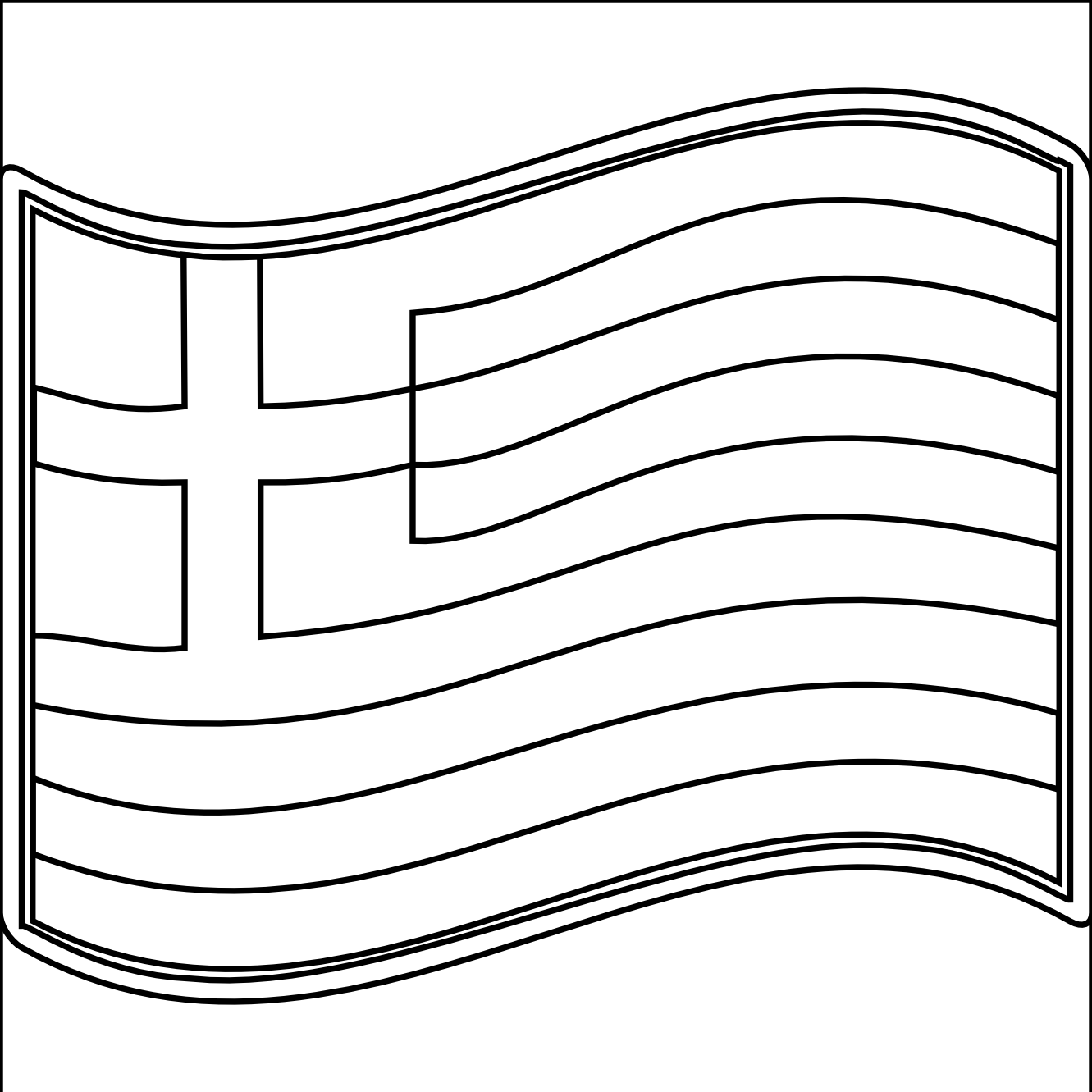 coloring pages for greek flags - photo#8