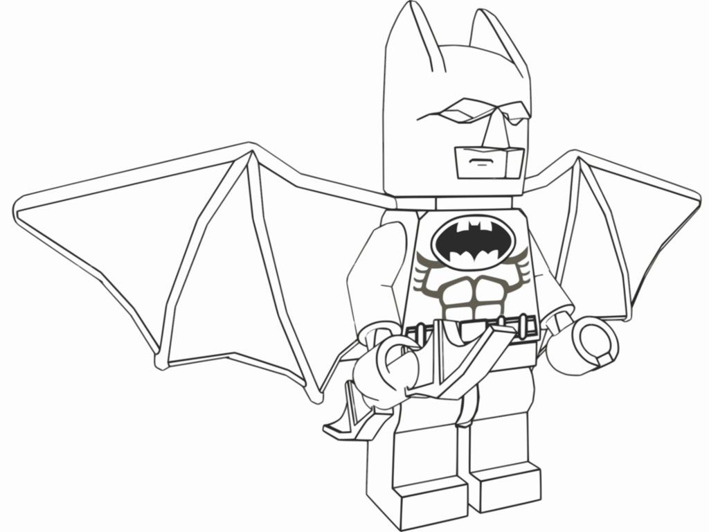 Free lego coloring book printable - Batman Lego Coloring Page Printable Free Voteforverde Com