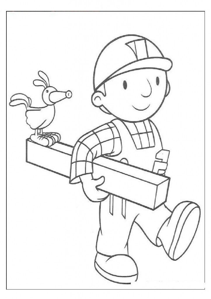 Educational Coloring Pages Pdf : Educational bob the builder coloring pages decoloring