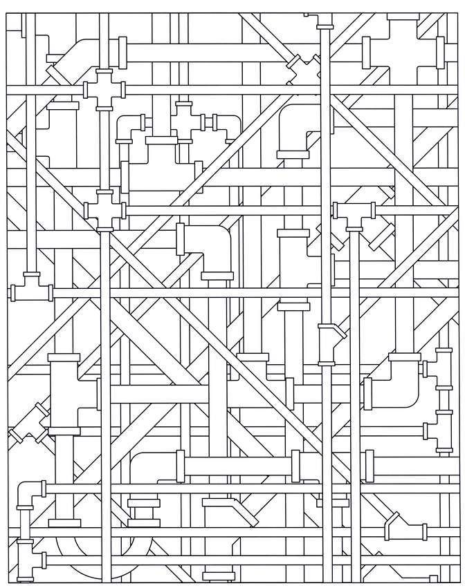 archiscapes coloring book by mindware coloring objects
