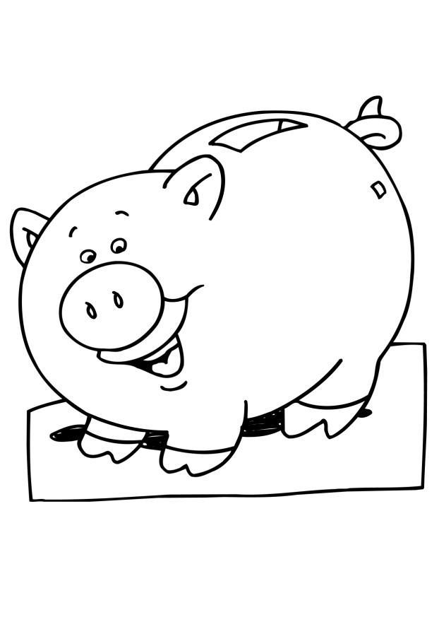 piggy bank coloring page piggy bank coloring page coloring home