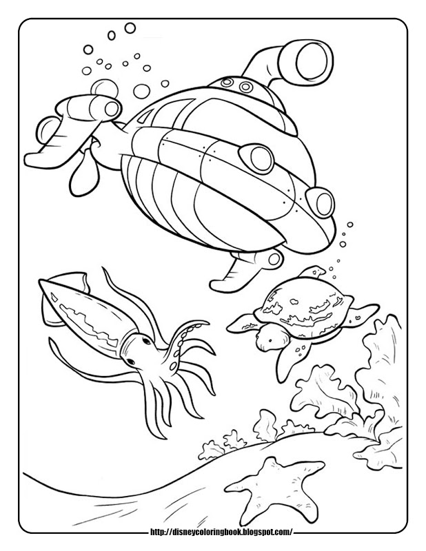 Disney junior octonauts coloring pages printable for Disney junior octonauts coloring pages