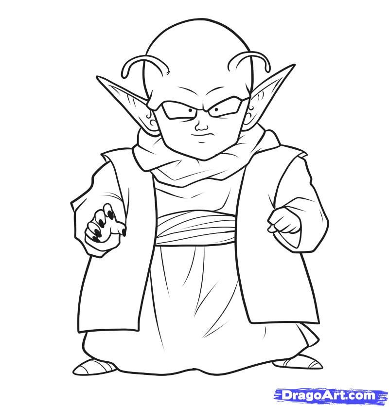 Drawings Of Dragon Ball Z Characters