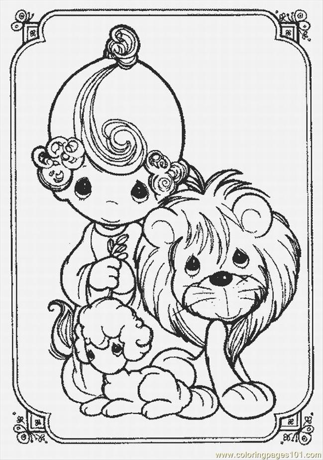 Coloring Pages Ts Love Coloring Pages 10 Lrg (Cartoons > Precious