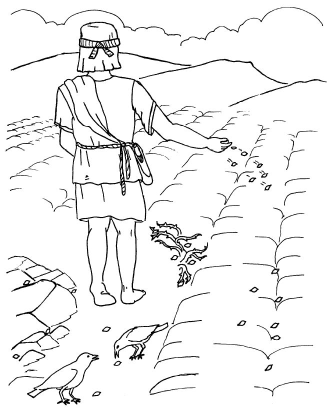 Sunday School Lessons Coloring Pages - AZ Coloring Pages