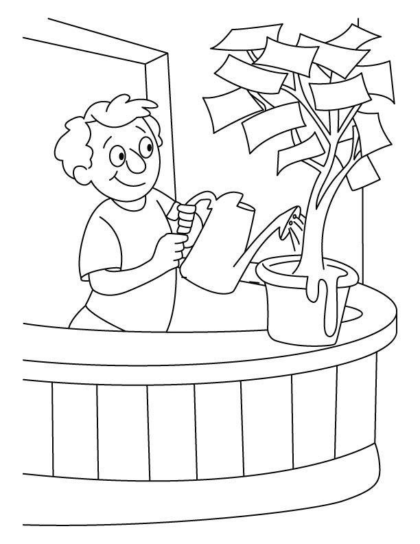 money coloring pages for kindergarten - coloring pages money coloring home