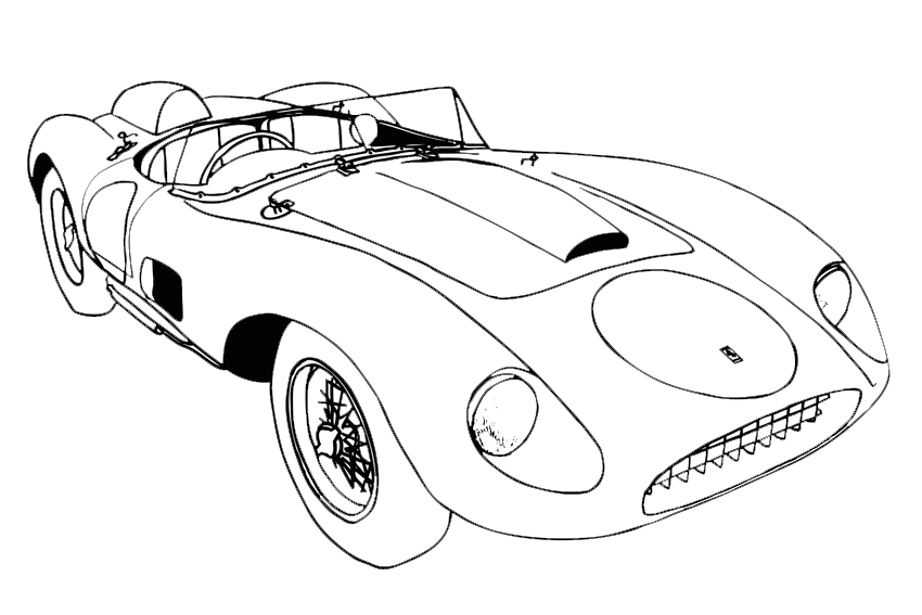 coloring pages of awesome cars - photo#25