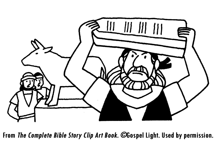 Ten Commandments Tablet Coloring Pages Images & Pictures - Becuo