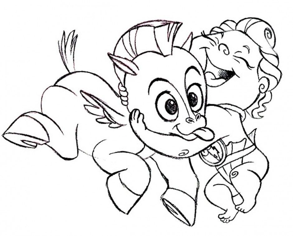 Pegasus Coloring Pages Unicorn And Pegasus Coloring Pages 192830