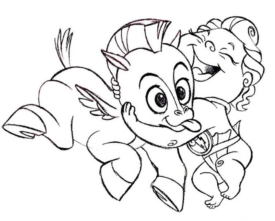 Baby Pegasus Coloring Pages AZ