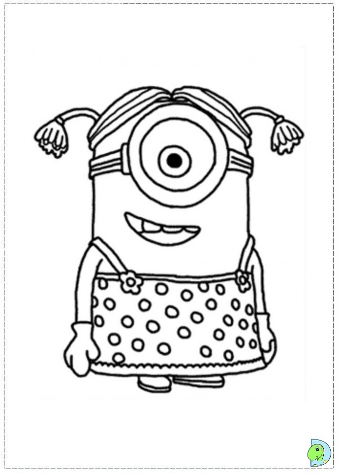 Despicable Me Minions Coloring Pages