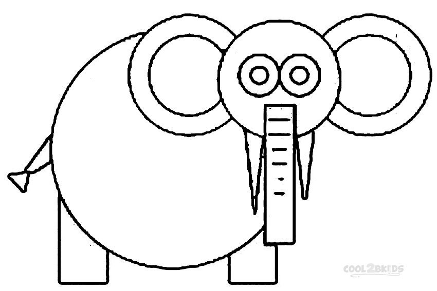 Basic shapes coloring pages ~ Basic Shapes - Free Colouring Pages