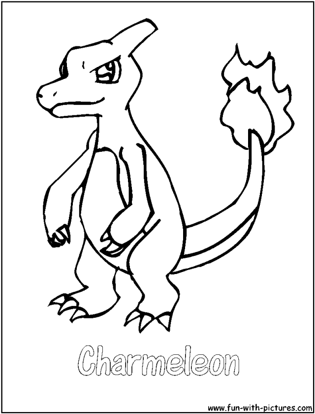 Charmander Coloring Pages Coloring Pages Charmander Coloring Pages