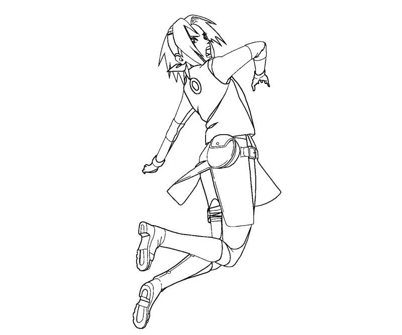 haruno coloring pages - photo#1
