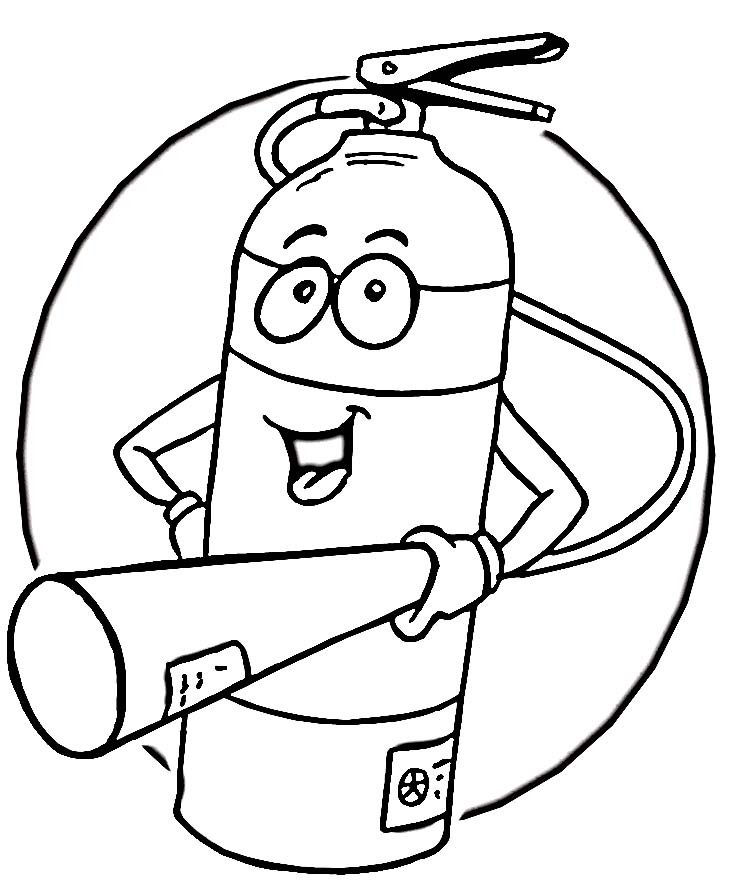 kids fire prevention coloring pages - photo#11