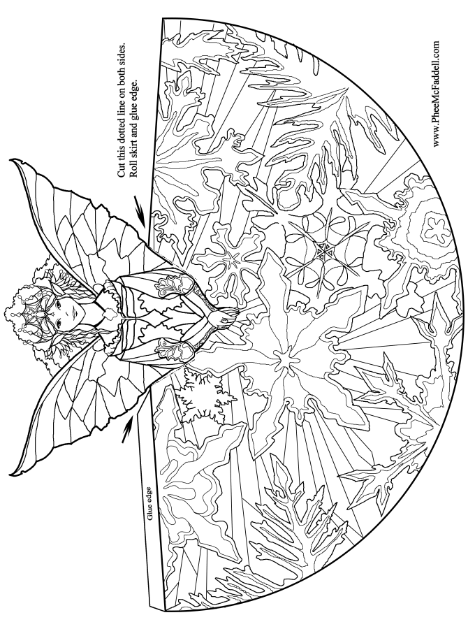 fairy coloring pages for adults - photo#31