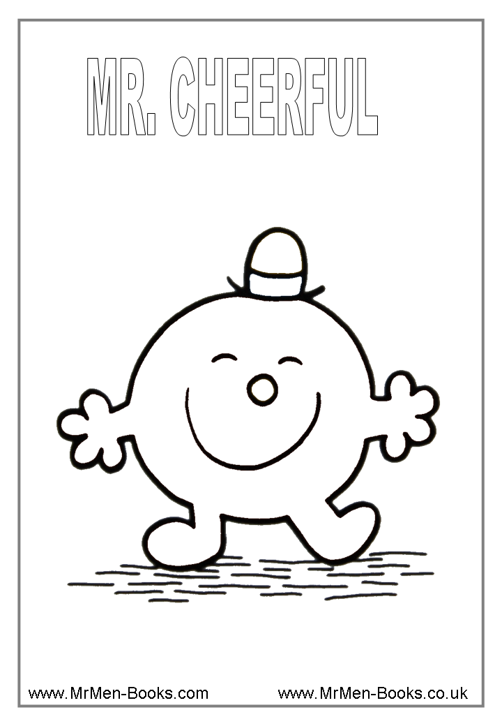 Little Miss And Mr Men Coloring Pages - Coloring Home