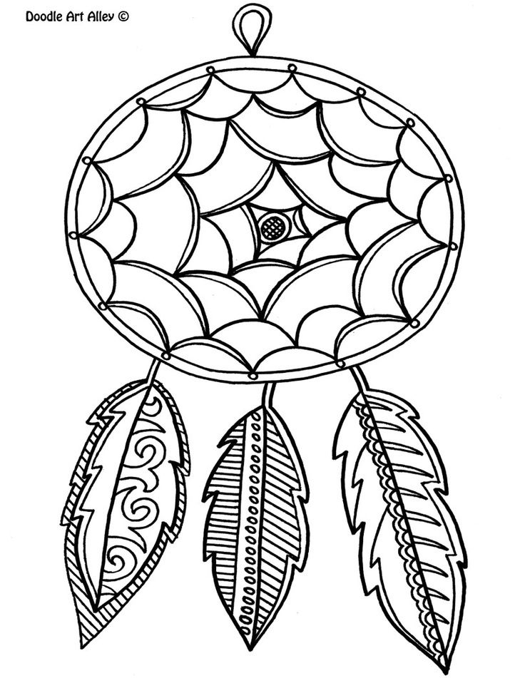 Dreamcatcher | Coloring Pages