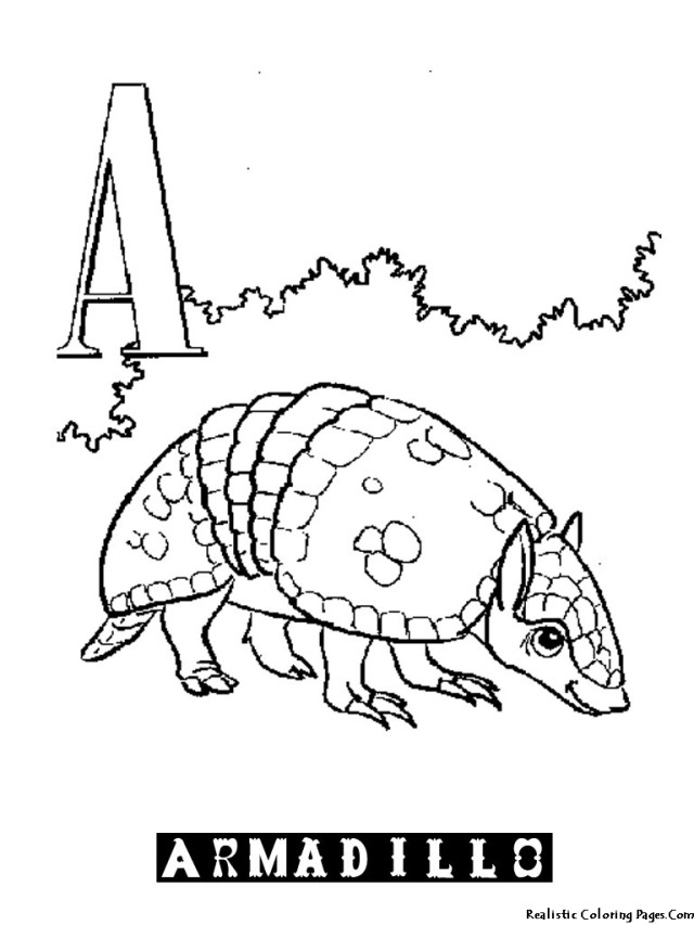 alphabet a az coloring pages