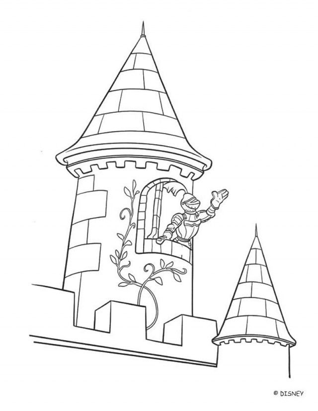 Printable pictures of castles coloring home for Disney castle coloring pages