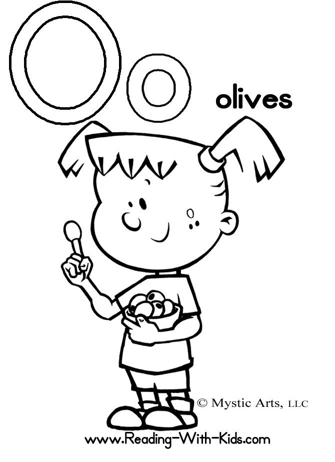 o coloring pages - photo #33