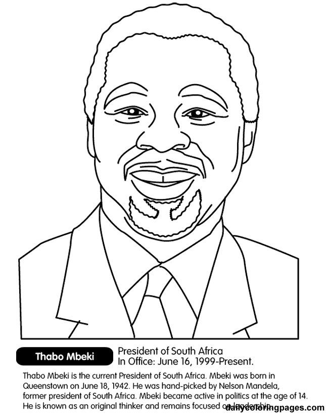 Printable Black History - Coloring Pages for Kids and for Adults