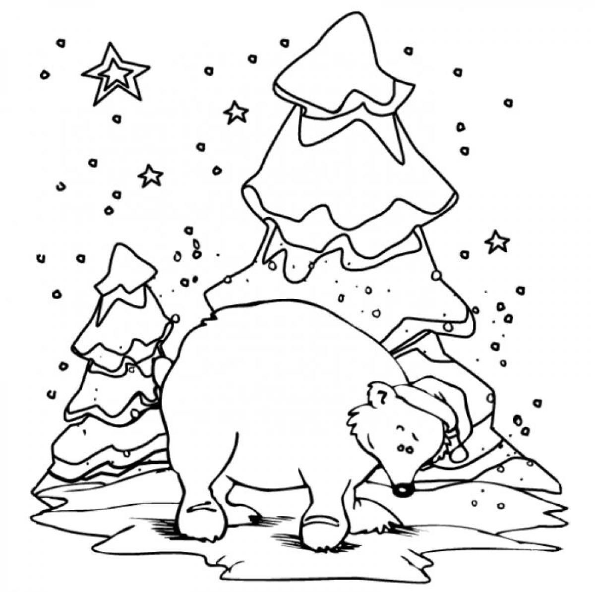 alaskan grizzly bear. free bear printable coloring pages for ...