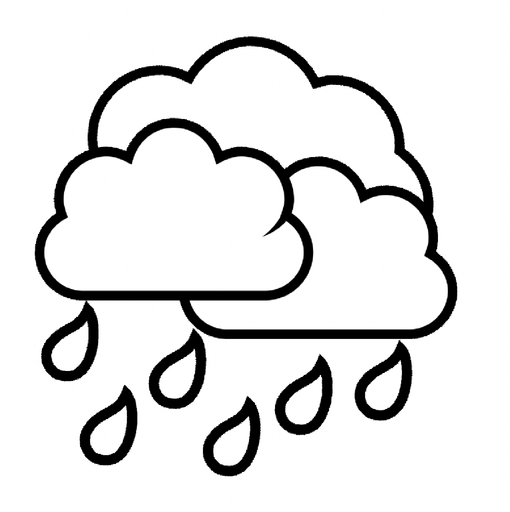 Spring rain coloring pages - Spring Rain Coloring Sheets Coloring Online