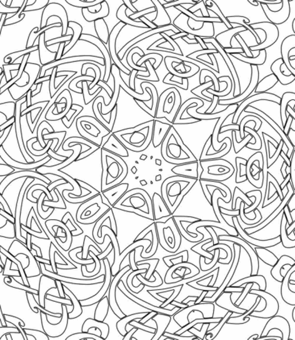 difficult printable coloring pages for kids and for adults