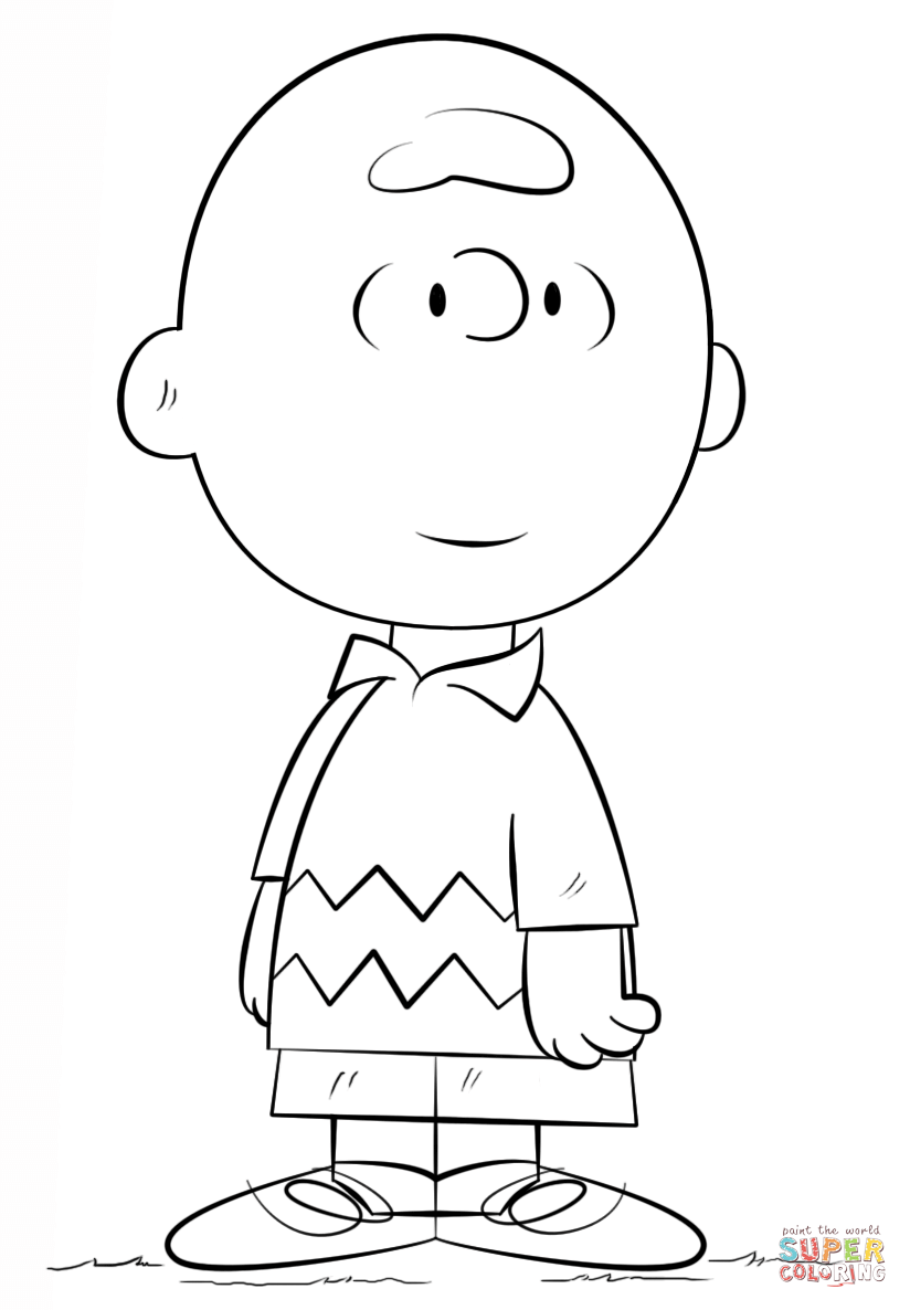 Its the great pumpkin charlie brown coloring pages for Charlie brown pumpkin template