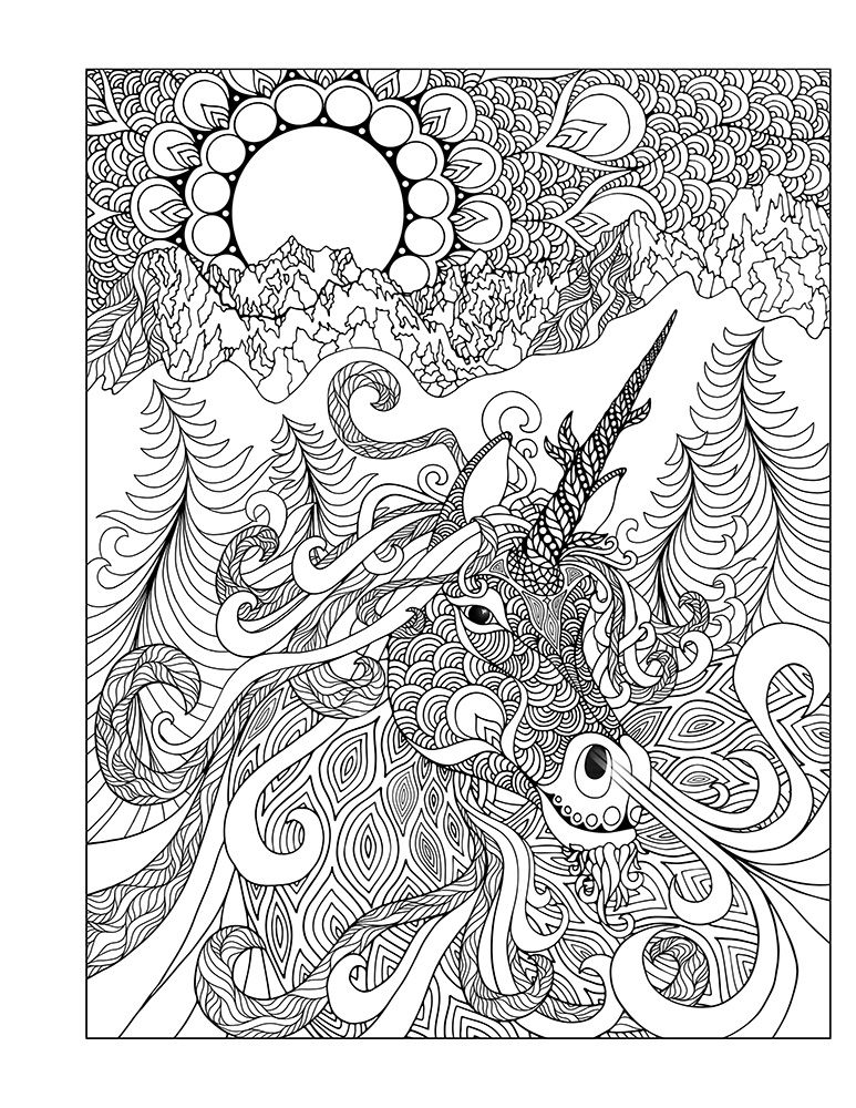 Summer Solstice Coloring Pages