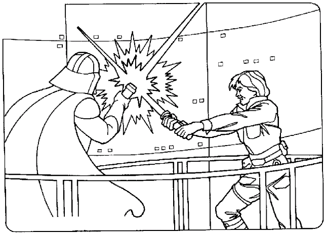 Darth Vader Coloring Pages Page 1