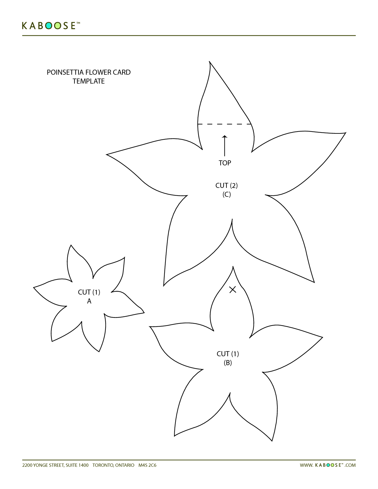 Printable Flower Templates