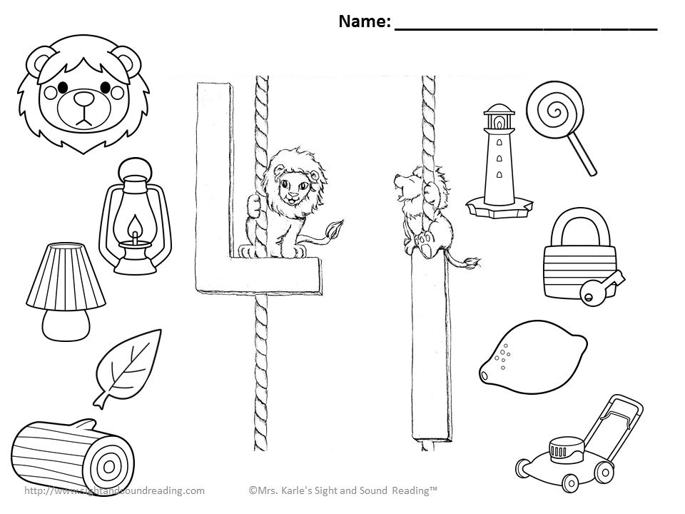 Letter l coloring page coloring home for Sound of music coloring pages