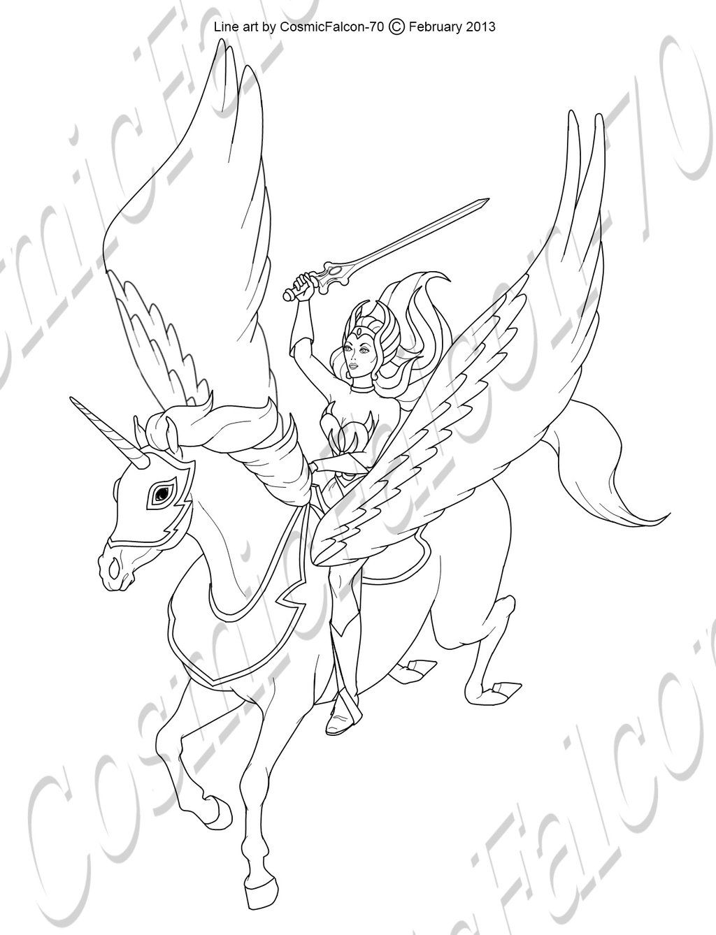 Shera Coloring Pages Coloring