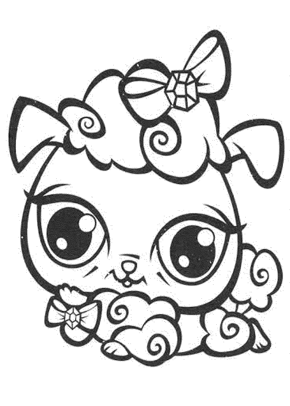 my little pet shop coloring pages - littlest pet shop coloring pages printable coloring home