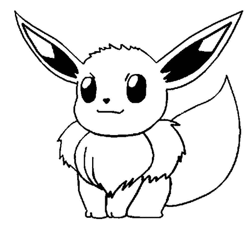 Free printable pokemon coloring pages: 37 pics - HOW-TO-DRAW in 1