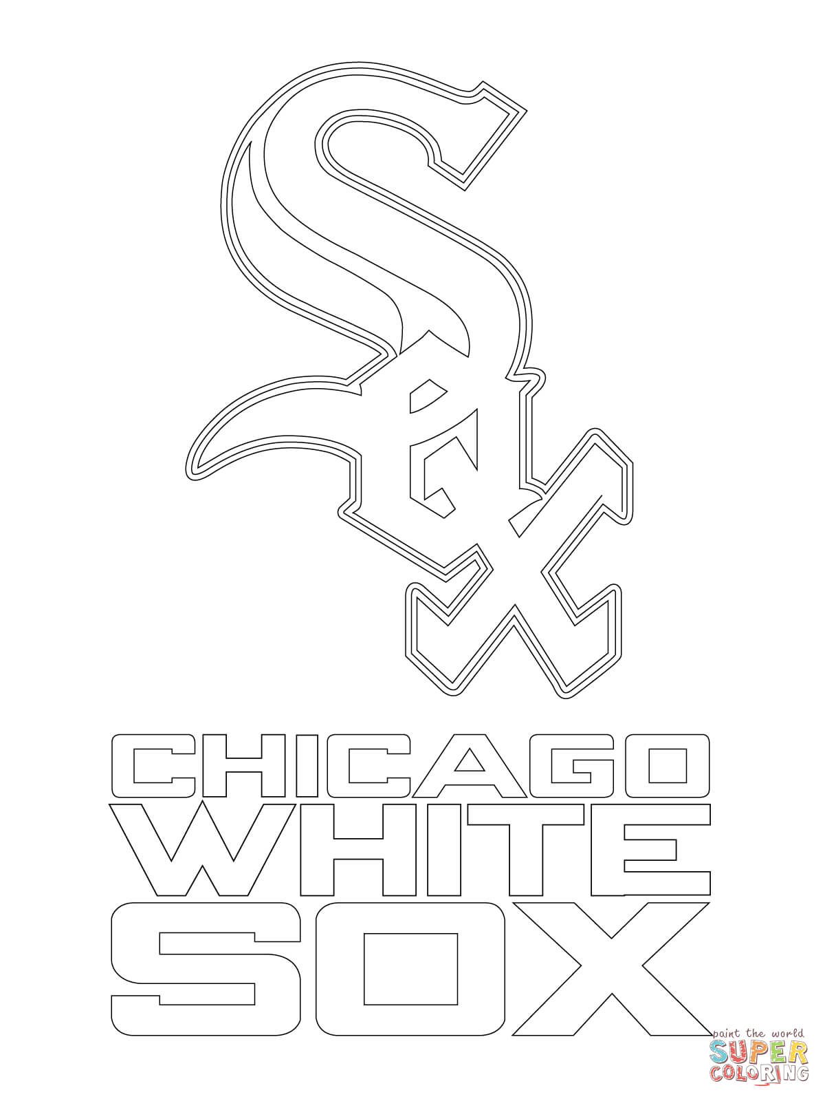 logo red sox coloring pages - photo#10