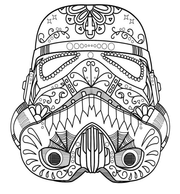Storm Trooper - Coloring Pages for Kids and for Adults