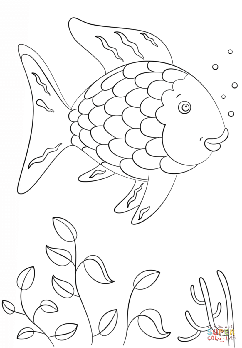 This is a picture of Rare Free Printable Fish