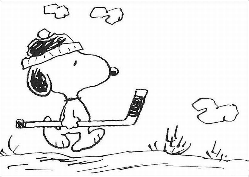 snoopy woodstock christmas coloring pages - photo#18