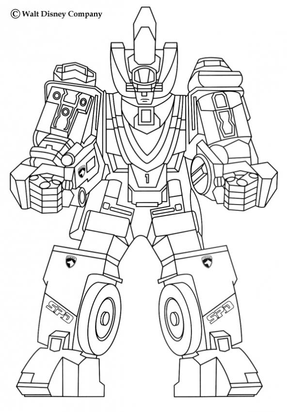 Coloring Pages Of Robots To Print Home