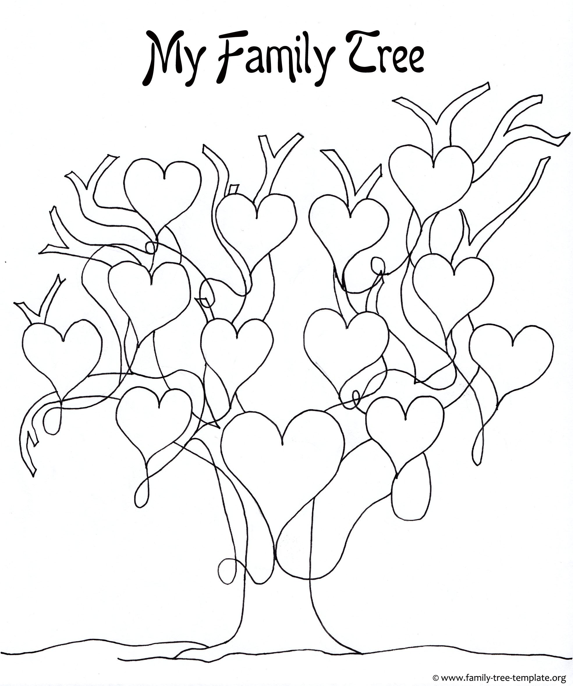 Printable Tree House Plans: Printable Tree Template