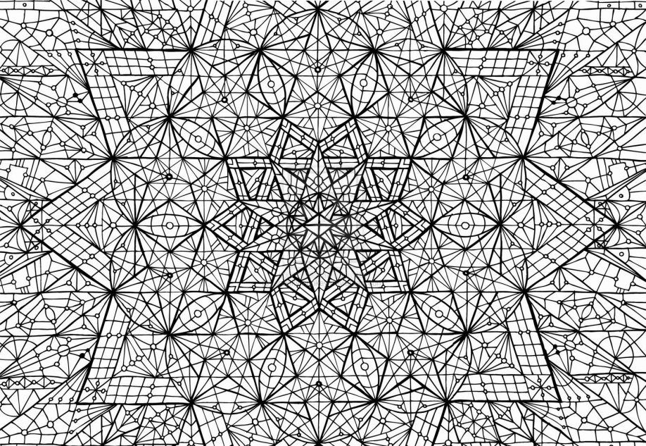 Complex Abstract Coloring Pages Printable Complex Coloring Pages