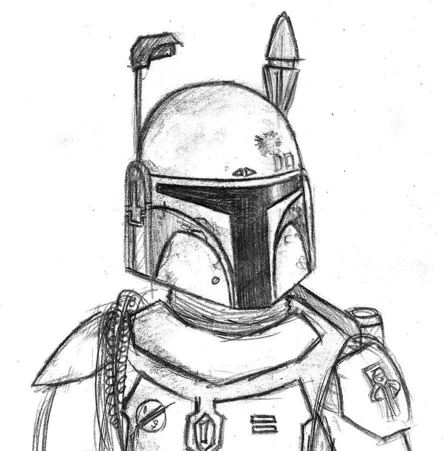 12 Pics of Star Wars Chibi Boba Fett Coloring Page - Star Wars ...