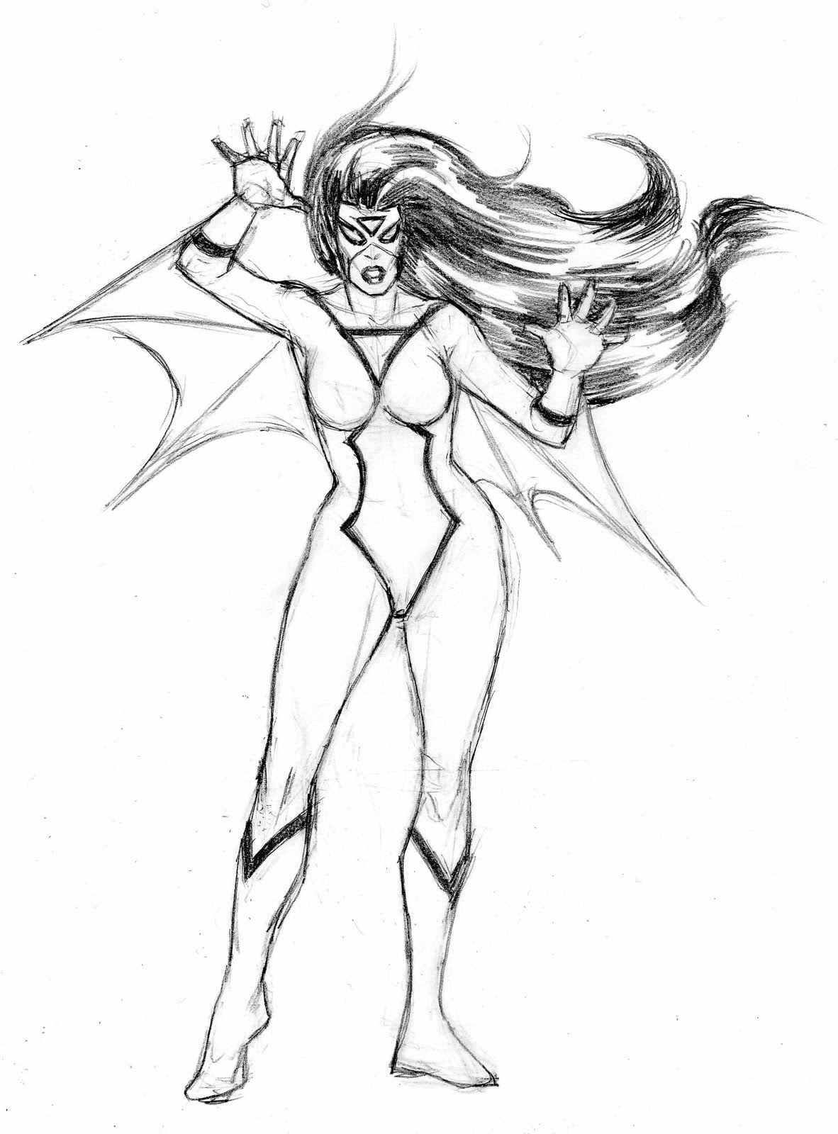female superhero coloring pages spider woman | Superhero ...