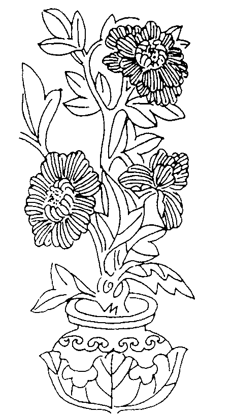 printable coloring pages for adults flowers coloring home flower