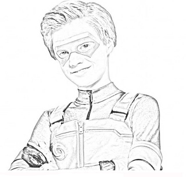 Henry Danger Coloring Pages - Coloring Home