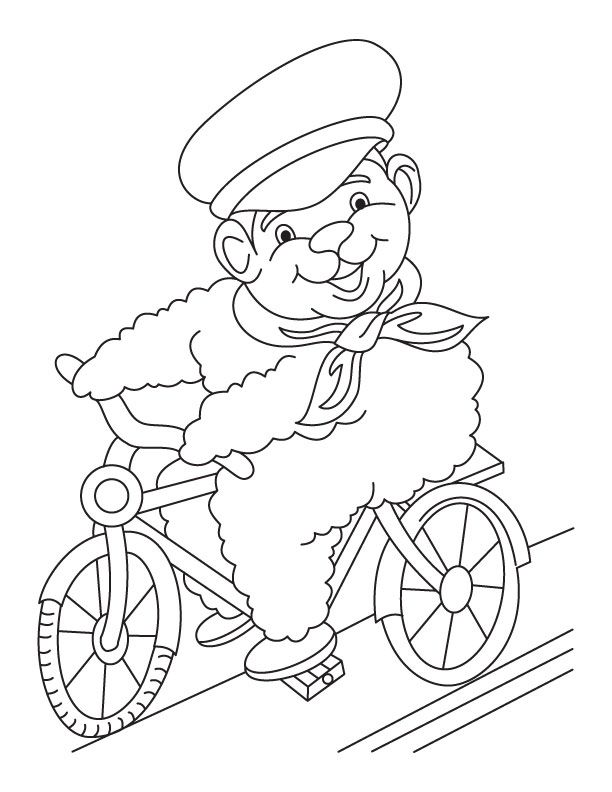coloring pages of bikes - photo#45