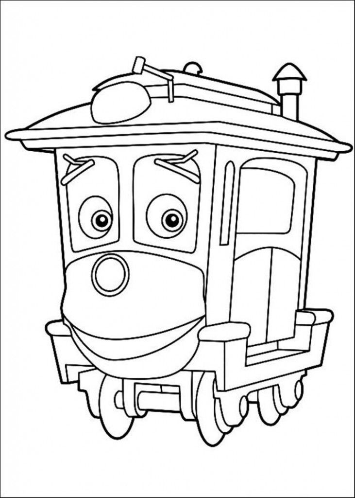 chuggington coloring book pages - photo#7